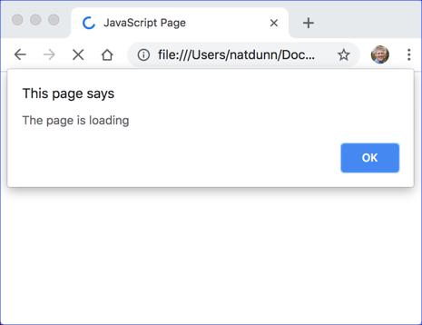 JavaScript Loading
