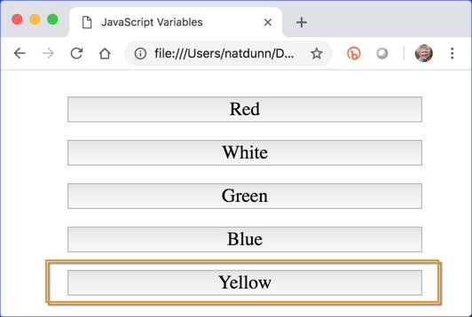 Tutorial: Variables, Arrays, and Operators | JavaScript