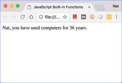 Built-in functions challenge 4.