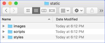static Folder