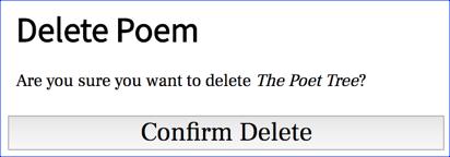 phppoetry.com - Delete Poem