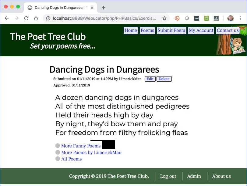 phppoetry.com Poem