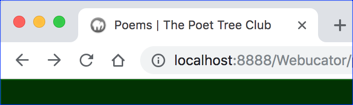 Title of poems.php