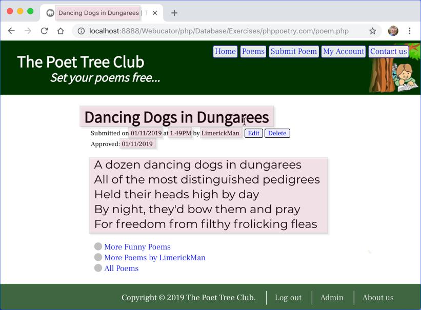 phppoetry.com poem.php