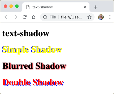 text-shadow Demo