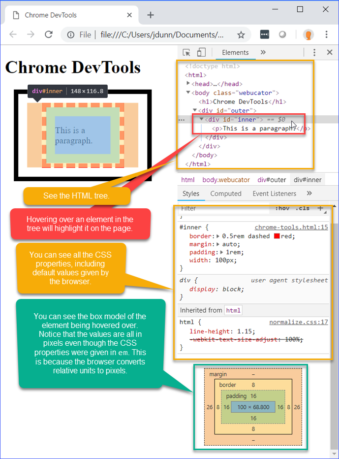 Chrome DevTools Demo