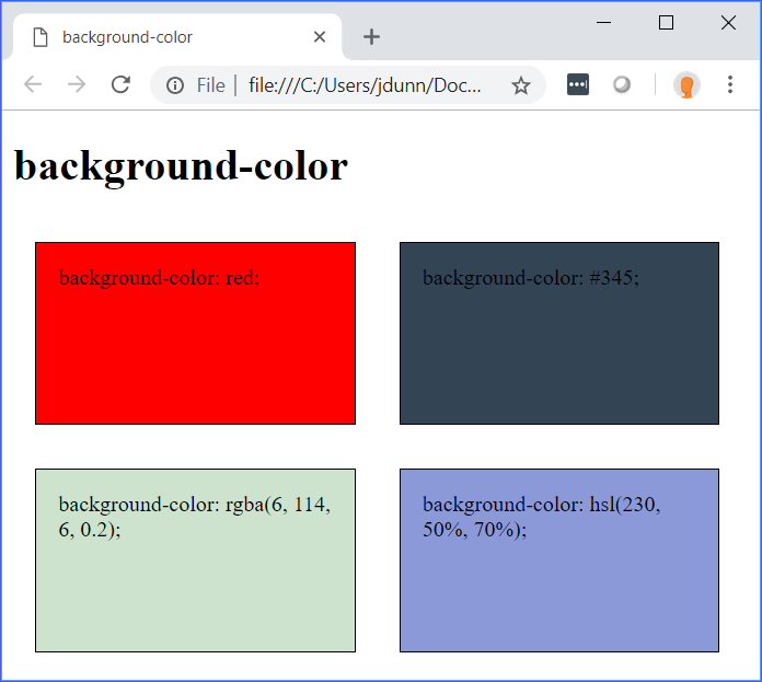 Tutorial: Backgrounds | Introduction to CSS Tutorial | Webucator