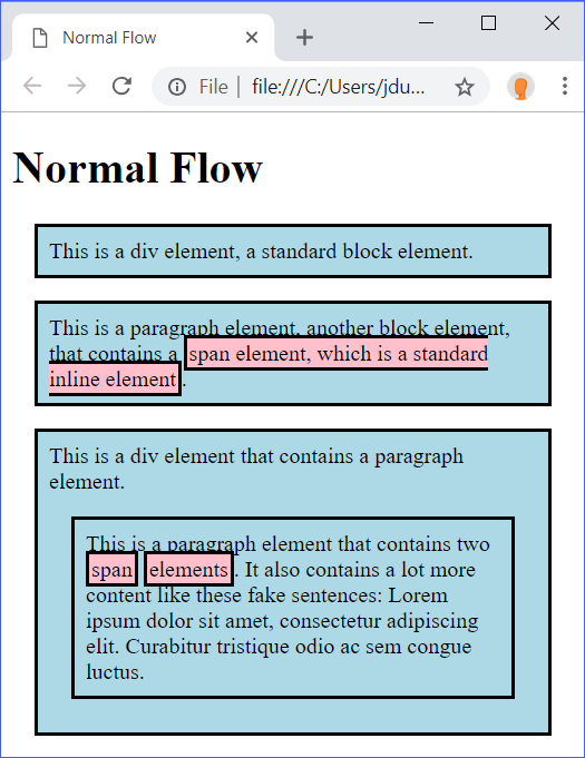 Normal Flow