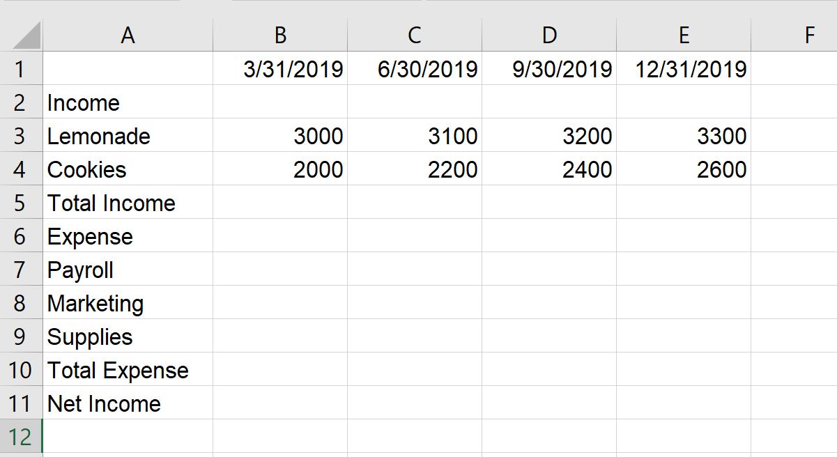 Tutorial: Entering Data in Microsoft Excel Worksheets