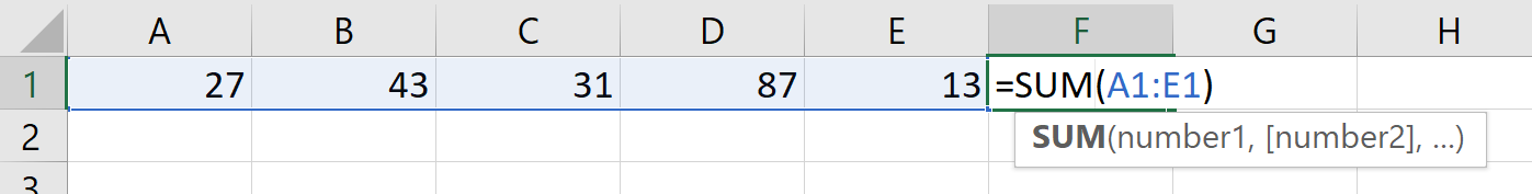 Excel Guesses Data