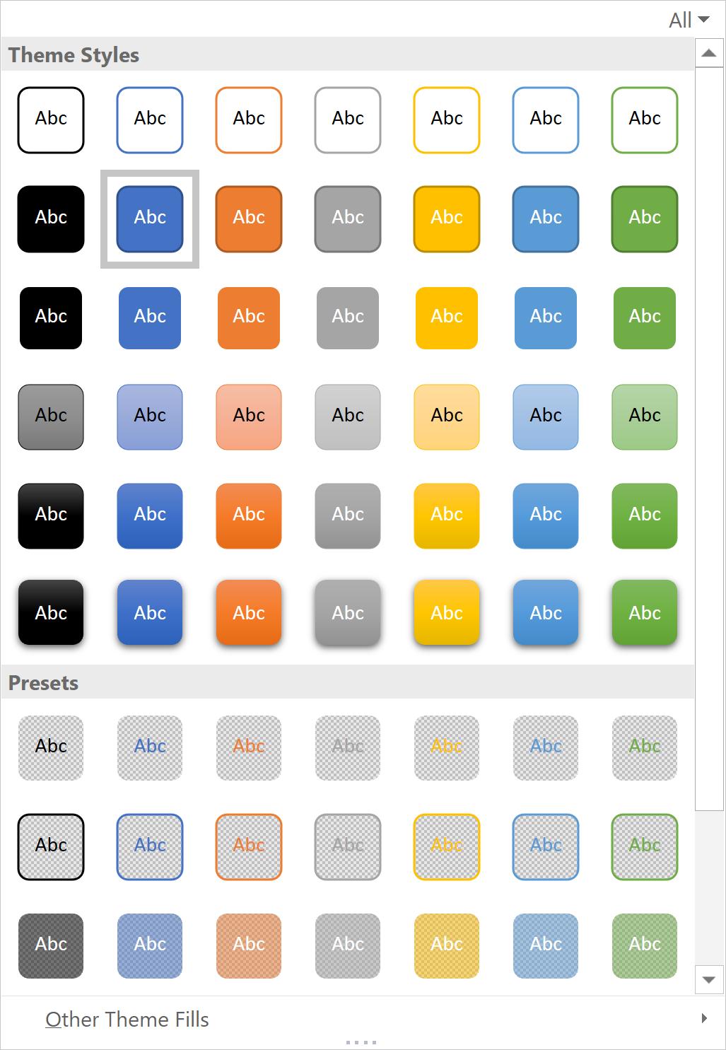 Theme Styles