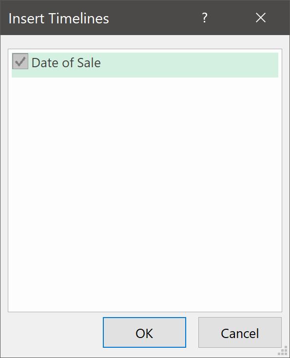 Daet of Sale