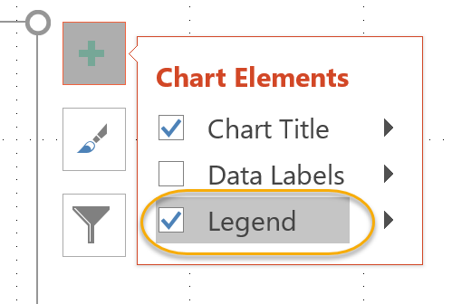 Legend Check Box
