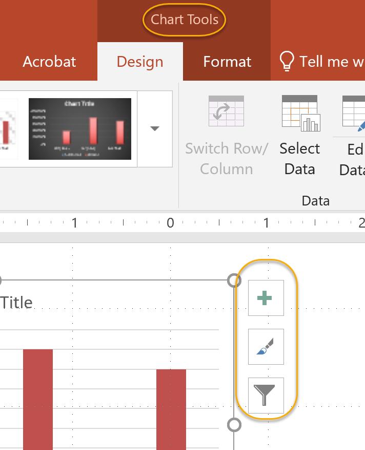 Chart Tools Options