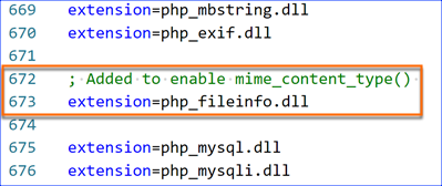 php_fileinfo.dll extension