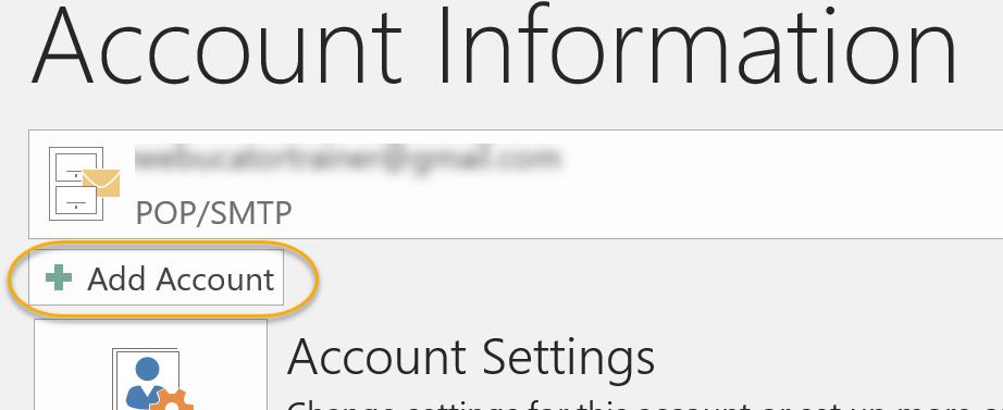Add Account Command