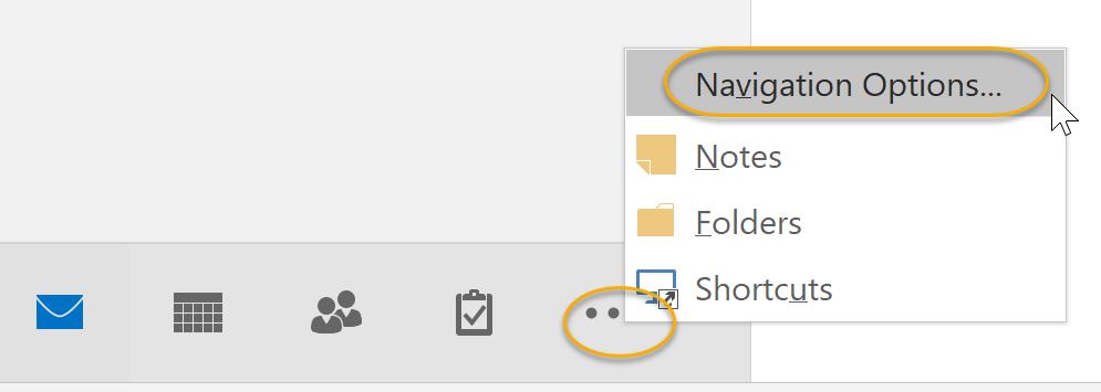 Navigation Options