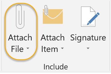 Attach File Command