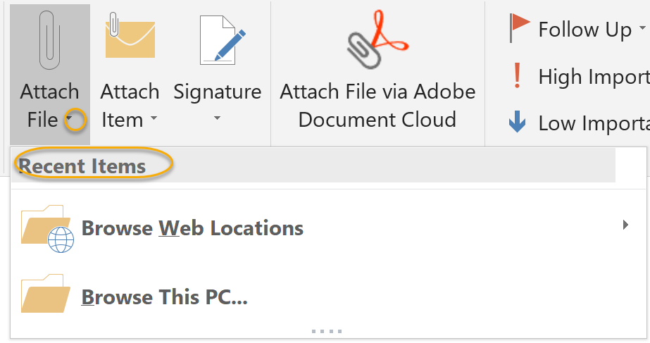 Select Where File is Located