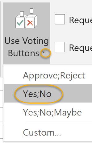 Select Voting Style