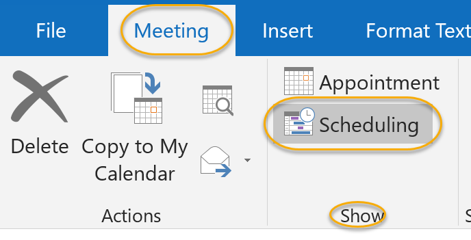Scheduling Command
