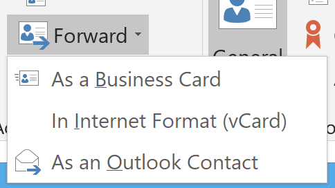 Contact Format