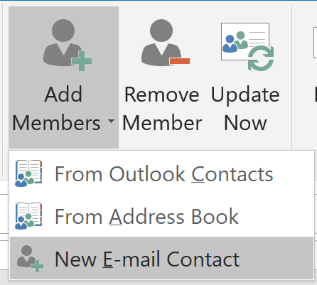 Contact Option