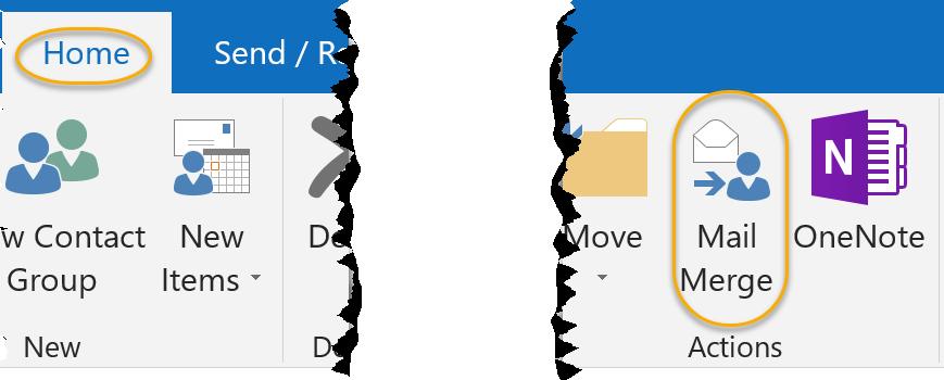 Mail Merge Command