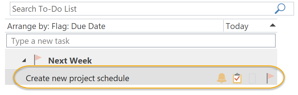 Task List and Calendar