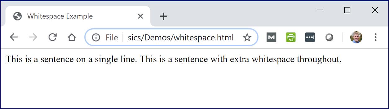 White Space
