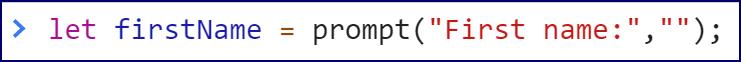 prompt code